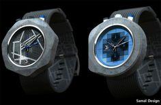 콘크리트 시계