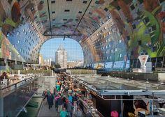 Olanda, frutta, verdura e architettura: il mercato è un'opera d'arte