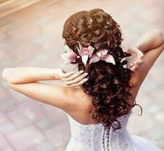 I found 'Long & Curly Hairstyle with Irises & Gems' on Wish, check it out!