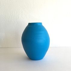 Blue Hand Thrown Vase delightful designs - San Francisco, CA