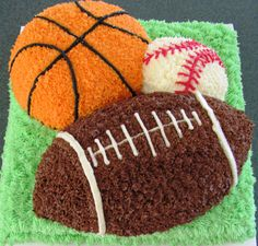 ♡ this one...Sports cake