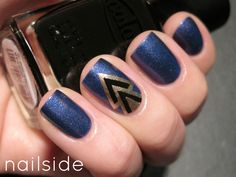 V design nails - Google Search