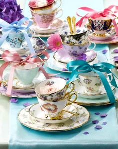 TEACUP....floral teacups which is more amazing