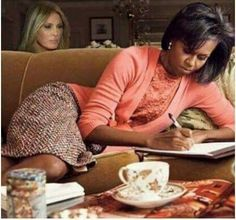 What will Mrs. Trump steal from FLOTUS next? !