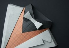 Dapper paper work by Jonathan Shackleton, a designer from the United Kingdom