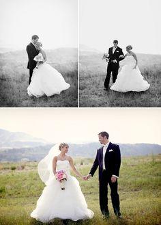 colorado wedding - love these bride and groom portraits