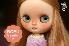 customizing a middie blythe - Pesquisa Google....(I like this one, she looks like she has measles poor baby)