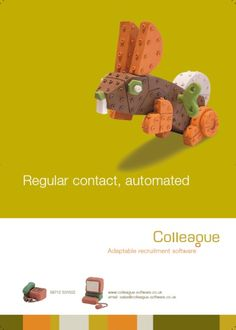 Regular Contact, Automated Colleague Software advert