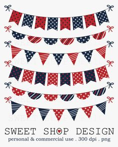 4th of july bunting sale