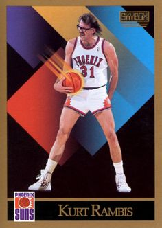 Former Lakers coach Kurt Rambis - we need more players that wore glasses Basketball Cards, Nba Basketball, Fat, Baseball, Sports, Glasses, Hs Sports, Eyewear, Sport