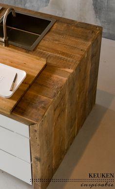 Keuken inspiratie | materialen mix | villa d'Esta | interieur en wonen