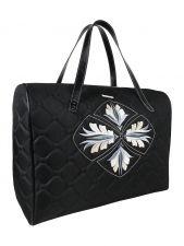 A big shoulder travel bag DESTINY (bright embroidery)