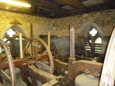 Cross Shot of the Belfry