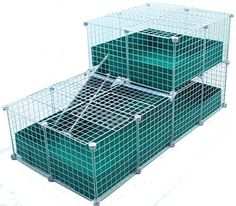 Large with Wide Loft, COVERED - Deluxe Covered Cages - C&C Cages for Guinea Pigs