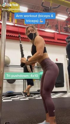 Gym Workout Videos, Gym Workouts, Arms Workout Gym, Stairmaster Workout, Bicep And Tricep Workout, Gym Routine, Fitness Workout For Women, Workout Aesthetic, Shoulder Workout