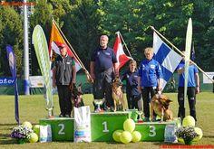 BF Wien: Wiener Feuerwehr-Rettungshund gewinnt Gold bei Rettungshunde-WM in Turin