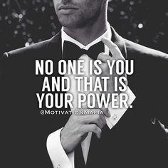 Embrace your power. #motivationmafia