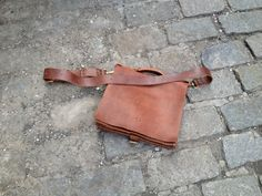 Classic business briefcase leather satchel by LUSCIOUSLEATHERNYC