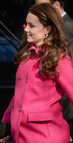 The Duchess of Cambridge arrives for her visit to the charity XLP community bus - 3/27/15