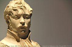Le Jour ni l'Heure 8981 : buste, 1806, du prince Eugène de Beauharnais, vice-roi d'Italie, 1781-1824, par Joseph Chinard, 1756-1813, château de La Malmaison, Hauts-de-Seine, Île-de-France