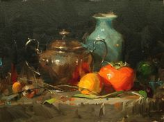 Original artwork from artist Qiang Huang on the Daily Painters Gallery Still Life Images, Still Life Art, Original Art, Original Paintings, Art Therapy Projects, Still Life Oil Painting, Fruit Painting, Daily Painters, Art Oil