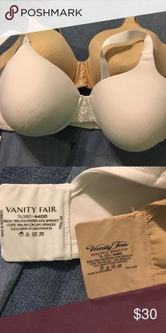 Vanity Fair bra bundle Vanity Fair bras. 44DD. Worn only a few times. Practically new.  1 white. 1 beige. Vanity Fair Intimates & Sleepwear Bras