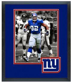 "Michael Strahan New York Giants Circa 2003-11x14 Framed/Matted ""Spotlight Photo"""