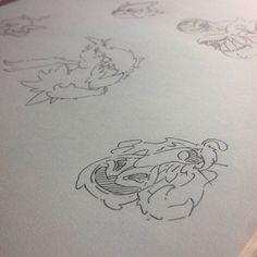 Gourgeist #pokemon #fanart #inktober #draw #drawing #sketch #art #nintendo #ghost #sketchbook #sketching #doodle #doodling #pumpkin
