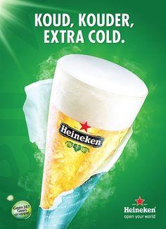 Heineken, ijskoud de lekkerste