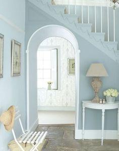 peinture bone china blue 107, bone china blue mid 183 et blue pale 182