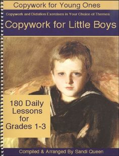Copywork for Little Boys (Copywork for Young Ones) by San...