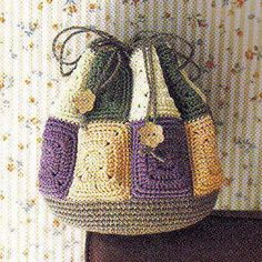 CROCHET BAG — Crochet by Yana. Idea only