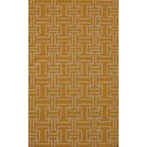 Found it at Wayfair - Flat Weave Yellow Rug