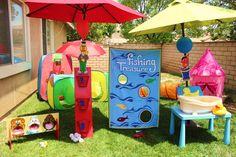 Sesame Street Birthday Party Ideas | Photo 8 of 67 | Catch My Party