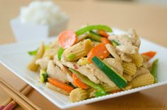 Quick, fresh, and crunchy, I love to make this Quick Chicken Stir Fry after I've indulged on too many rich dishes and want something refreshing.