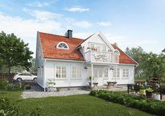 Sørlandshus Skipperhus Buet vindu