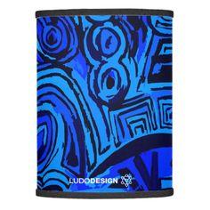 Lámpara Symbols Blue