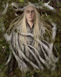 "Good bye..Mirk Wood…Good bye Thranduil…"" Here This…completion Picture and  Compositing "" Work in Process "" Pictures !!! :) Compositing by Helena Shin"