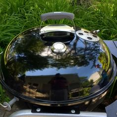 "Weber Kettle Mod: adding the ""taco"" handle to my older style lid #grilling #BBQ #Deals #recipes #discounts #summer #foodie #food #recipe #free"
