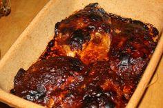 recept főétel húsétel melegétel csirke mázas fűszeres