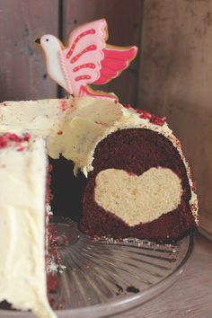 How to make a hidden heart Red Velvet Cake Biscuiteers
