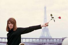 niniaglietta: Françoise Hardy by Jean-Marie Périer, Françoise Hardy, Nicolas Ghesquière, Tour Eiffel, Jimi Hendrix, Vintage Gallery, Rock And Roll Girl, Pray For Paris, Jean Marie, Glamour