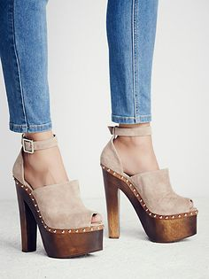 Jeffrey Campbell + Free People Sweet Jane Platform Clog at Free People Clothing Boutique