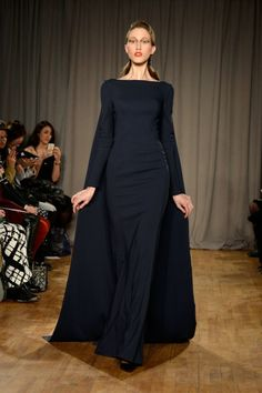 I'd gladly lop off a toe if I could pull this look off.  Zac Posen - Runway - Mercedes-Benz Fashion Week Fall 2014