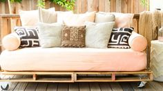 8 Incredibly Creative Ways to Reuse Shipping Pallets: From headboards to console tables, here's how to turn a hardware store cast-off into a charming rustic accessory for your home.