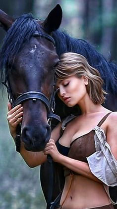 Beautiful Girl Image, Girls Image, Animals Beautiful, Equestrian, Curls, Creatures, The Incredibles, Horses, Woman