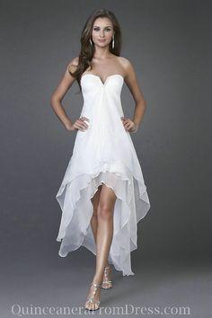 Formal Dress Patterns | Cheap Prom Dress Patterns,Chiffon Strapless High Low Cheap Prom Dress ...