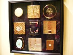 Vintage Compacts. Volupte, Coty, Elgin and more vintage makeup compacts.