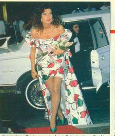 Carolina en Miami en 1988