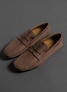 Mens Loafers Shoes, Men S Shoes, Loafer Shoes, Driving Loafers, Driving Shoes, Billy Reid, Shoe Pattern, Penny Loafers, Shoe Game
